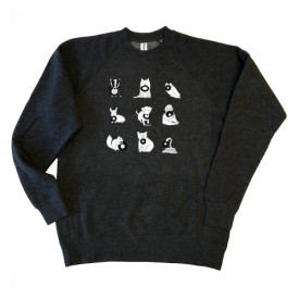 br28: Barsuk Records / Alternate Logo Crewneck Sweatshirt