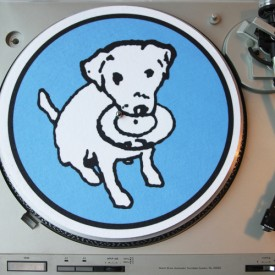 brslipmat01: Barsuk Records / Barsuk Records Turntable Slipmat