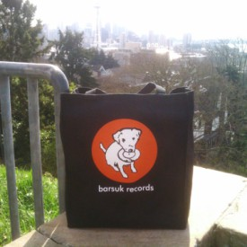 brtote02: Barsuk Records / Grocery Tote