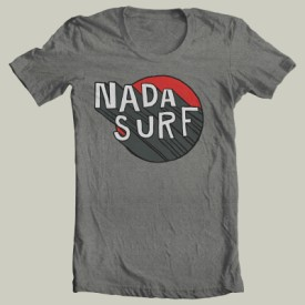 nada03: Nada Surf / Nada Surf Gray + Red